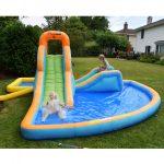 cascade water slide kids play