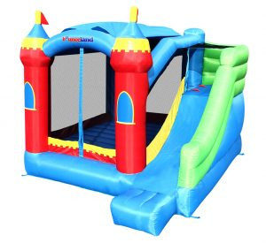 5964 bounceland royal palace bounce house with slide