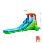 single water slide product features