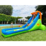 9032 single water slide green