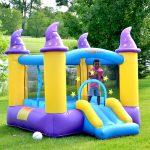bounceland wizard magic bounce house kids play