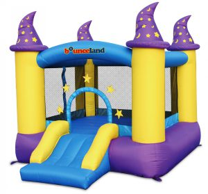 bounceland wizard magic bounce house