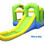 9125 bounceland bounce 'n splash wet or dry combo bounce house water slide