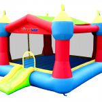 9128A Bounceland party castle bounce house with slide