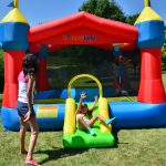9218A Party castle bounce house kids play