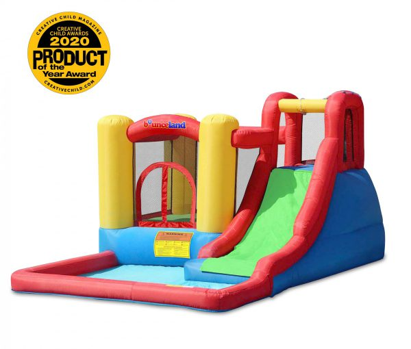 9271 jump and splash adventure bounce house water slide