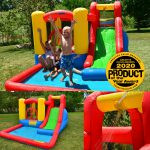 9271 jump and splash adventure bounce house wet or dry combo