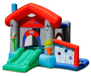 9311T play house bounce house with ball pit