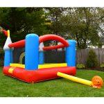 9927 kiddie bounce castle back blower view