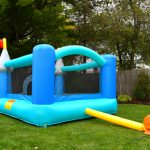 9927 bounceland kiddie castle bounce house with slide
