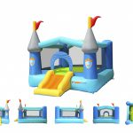 9927 bounceland kiddie castle bounce house with slide multi view
