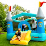 9927 bounceland kiddie castle bounce house with slide kids play indoor outdoor fun