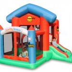 8002 happy house bounce house ball pit slide