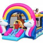 8004 fantasy bounce house with light and sound interaction kids play
