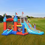 9021 medieval castle bounce house kids play outdoor indoor backyard fun