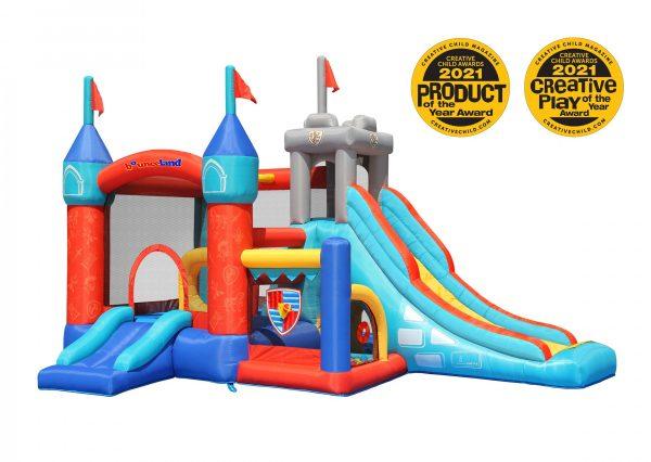 medieval castle bounce house 9021