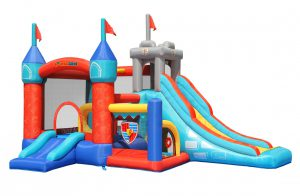 9021 medieval castle bounce house