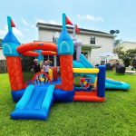 9021 medieval castle bounce house kids play