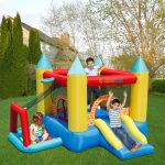 bounce house play day 4 in 1 with ball pit kids play backyard