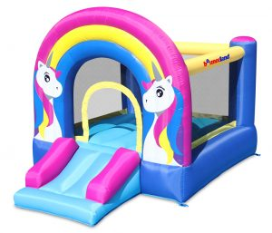 9351 rainbow unicorn bounce house