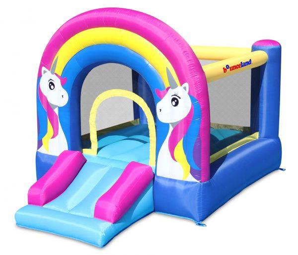 9351 rainbow unicorn bounce house