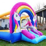 9351 rainbow unicorn bounce house kids bounce