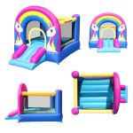 9351 rainbow unicorn bounce house views