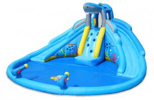 shark tank inflatable water slide