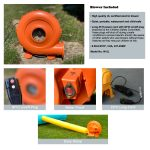 inflatable bounce house blower