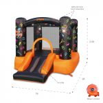 8003 Kidz Rock Bounce House with slide interacting lights and sound features