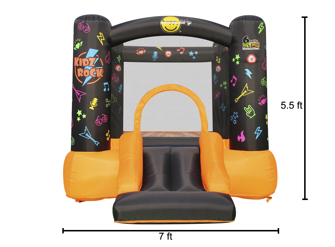 Bounce House - Kidz Rock Bounce House with Lights and Sound interaction 3