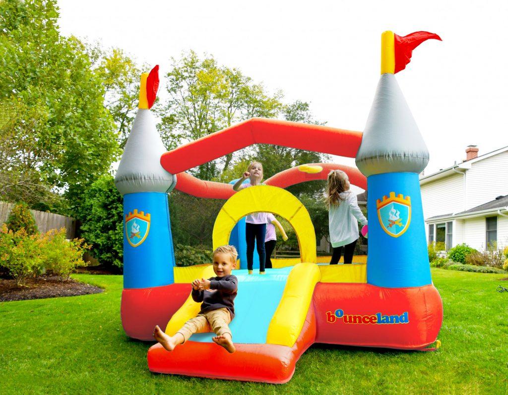 kiddie castle bounce house