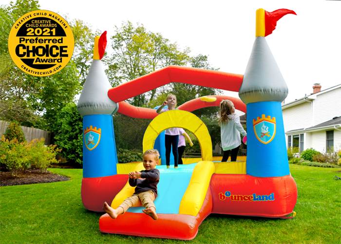 kiddie castle bounce house award