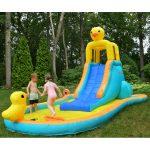 9940D ducky splash water slide pool kids