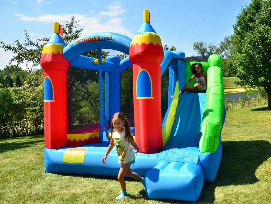 royal palace bounce house with slide best seller