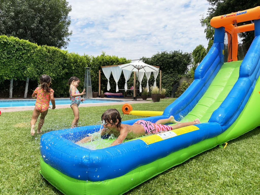 single water slide